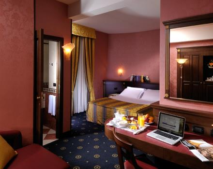 Camere hotel 4 stelle bologna centro best western city hotel for Hotel quattro stelle bologna